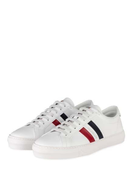 MONCLER Sneaker NEW MONACO, Farbe: WEISS (Bild 1)