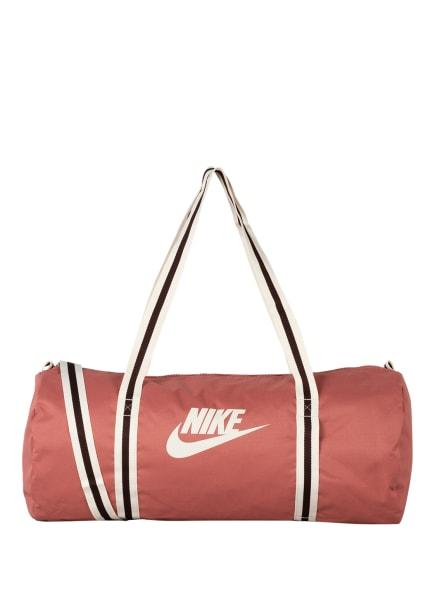 Nike Sporttasche HERITAGE, Farbe: ROSA/ CREME/ DUNKELBRAUN (Bild 1)