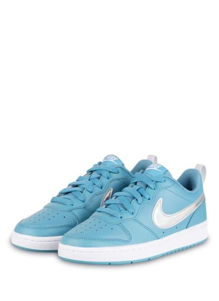 Nike Sneaker COURT BOROUGH LOW 2, Farbe: HELLBLAU/ SILBER (Bild 1)
