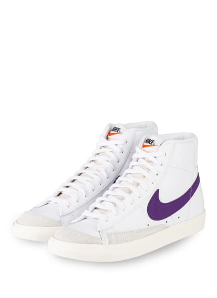 Nike Hightop-Sneaker BLAZER MID '77 VINTAGE, Farbe: WEISS/ LILA (Bild 1)