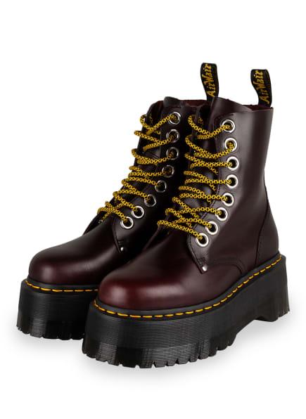 Dr. Martens Plateau-Boots JADON MAX, Farbe: DUNKELROT (Bild 1)