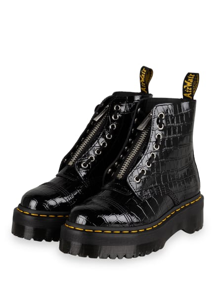 Dr. Martens Plateau-Boots SINCLAIR, Farbe: SCHWARZ (Bild 1)