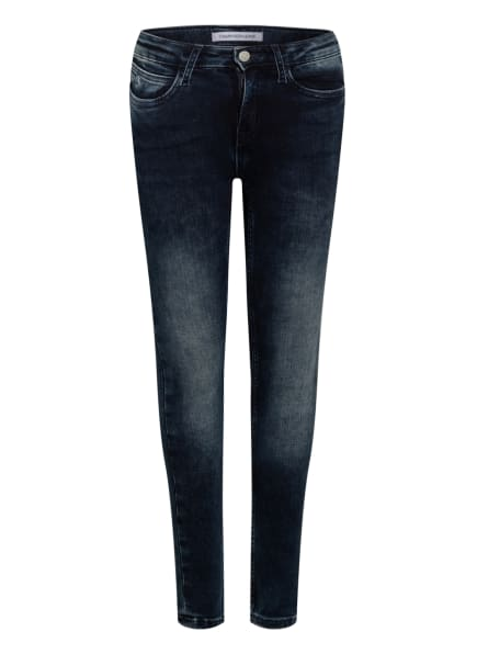 Calvin Klein Skinny Jeans , Farbe: 1BK DUW BLUE GREY STRECH (Bild 1)
