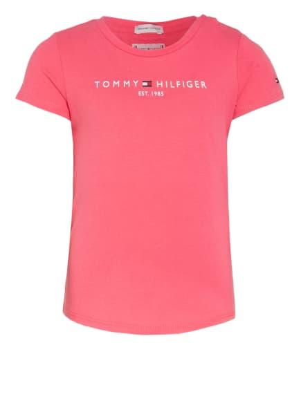 TOMMY HILFIGER T-Shirt ESSENTIALS , Farbe: PINK (Bild 1)