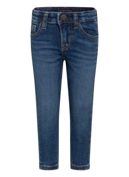 TOMMY HILFIGER Jeans SCANTOM Slim Fit, Farbe: 1BJ MIDNIGHT DARK BLUE STRETCH (Bild 1)