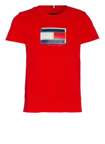 TOMMY HILFIGER T-Shirt , Farbe: ROT (Bild 1)