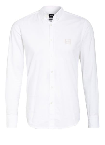 BOSS Hemd MABSOOT Slim Fit, Farbe: 100 WHITE (Bild 1)