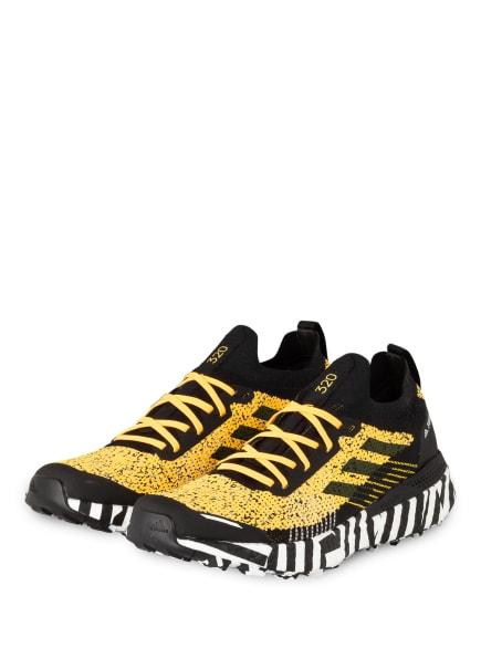 adidas Trailrunning-Schuhe TERREX TWO ULTRA PARLEY, Farbe: SOGOLD/CBLACK/FTWWHT (Bild 1)