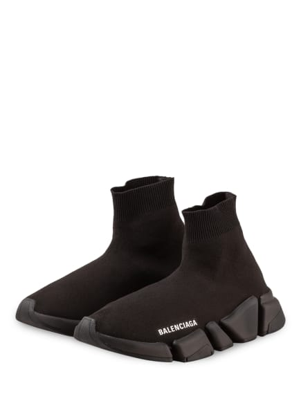 BALENCIAGA Hightop-Sneaker SPEED 2.0, Farbe: SCHWARZ (Bild 1)