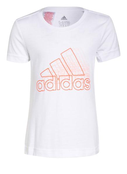 adidas T-Shirt UP2MV AEROREADY, Farbe: WEISS (Bild 1)