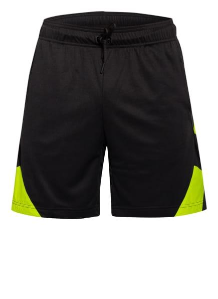adidas Shorts URBAN, Farbe: SCHWARZ/ NEONGRÜN (Bild 1)