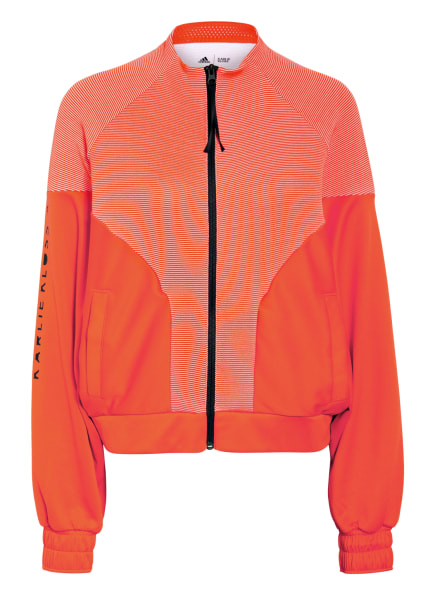 adidas Trainingsjacke COVER-UP, Farbe: ORANGE (Bild 1)