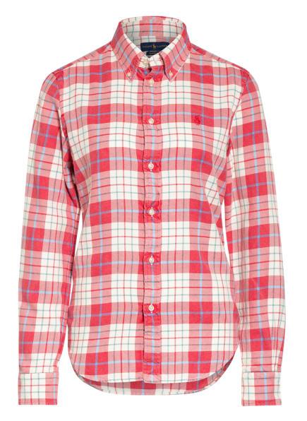 POLO RALPH LAUREN Bluse , Farbe: ROT/ WEISS/ HELLBLAU (Bild 1)