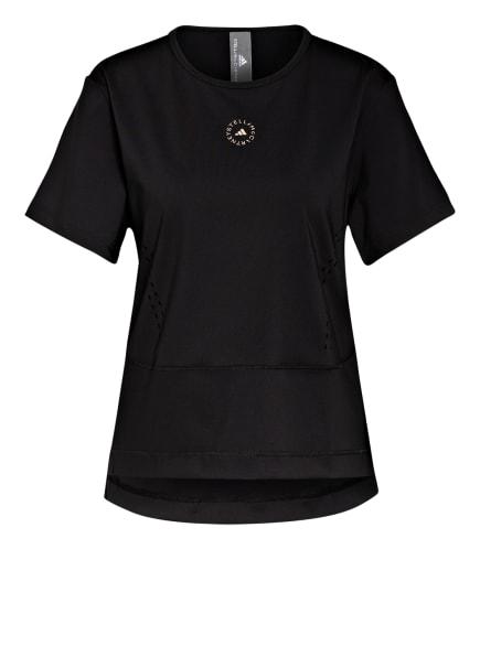 adidas by Stella McCartney T-Shirt TRUESTRENGTH, Farbe: SCHWARZ (Bild 1)