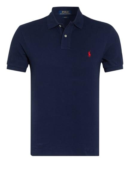 POLO RALPH LAUREN Piqué-Poloshirt Slim Fit, Farbe: DUNKELBLAU (Bild 1)