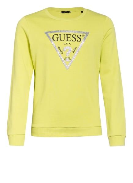 GUESS Pullover, Farbe: HELLGRÜN (Bild 1)