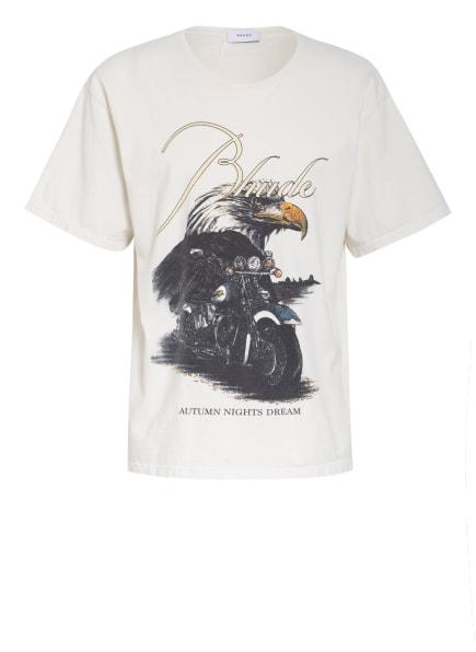 RHUDE T-Shirt, Farbe: ECRU (Bild 1)