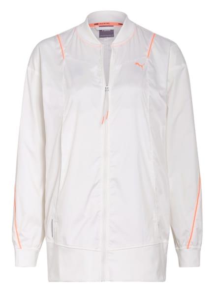 PUMA Trainingsjacke PEARL, Farbe: WEISS (Bild 1)