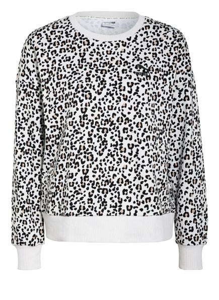 PUMA Sweatshirt, Farbe: HELLGRAU/ SCHWARZ/ BEIGE (Bild 1)