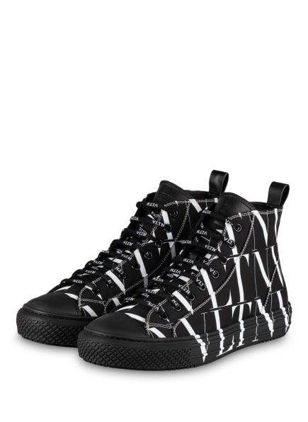 VALENTINO GARAVANI Hightop-Sneaker VLTN, Farbe: SCHWARZ/ WEISS (Bild 1)