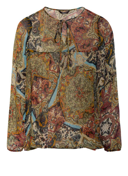 Princess GOES HOLLYWOOD Blusenshirt, Farbe: GRÜN/ ROT/ GELB (Bild 1)