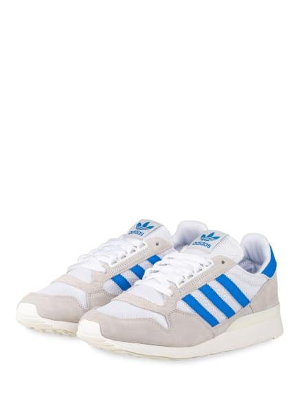 adidas Originals Sneaker ZX 500, Farbe: WEISS/ HELLGRAU/ BLAU (Bild 1)
