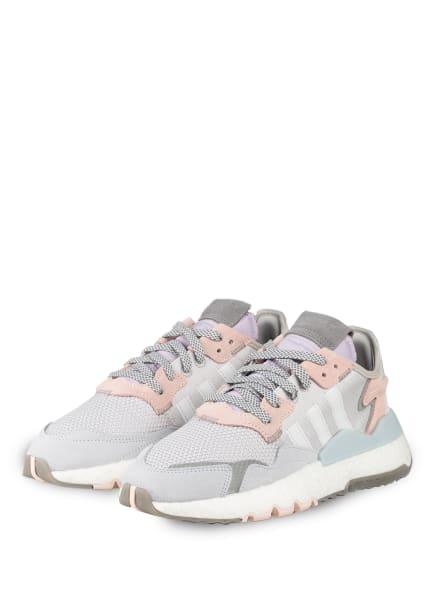adidas Originals Sneaker NITE JOGGER , Farbe: HELLGRAU/ HELLROSA (Bild 1)