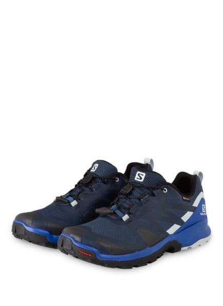 SALOMON Trailrunning-Schuhe XA ROGG GTX, Farbe: DARK DENIM/Black/Pearl Blue (Bild 1)