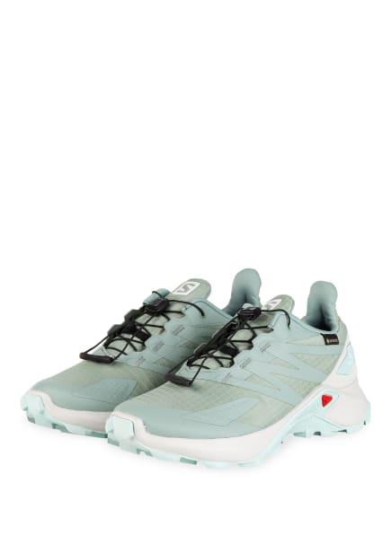 SALOMON Trailrunning-Schuhe SUPERCROSS BLAST GTX, Farbe: MINT (Bild 1)