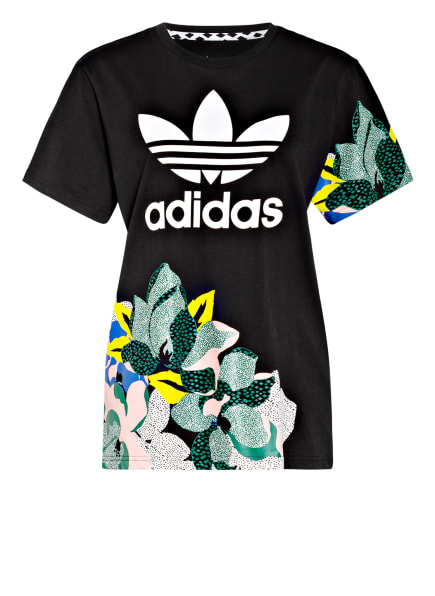 adidas Originals Oversized T-Shirt HER STUDIO LONDON, Farbe: SCHWARZ (Bild 1)