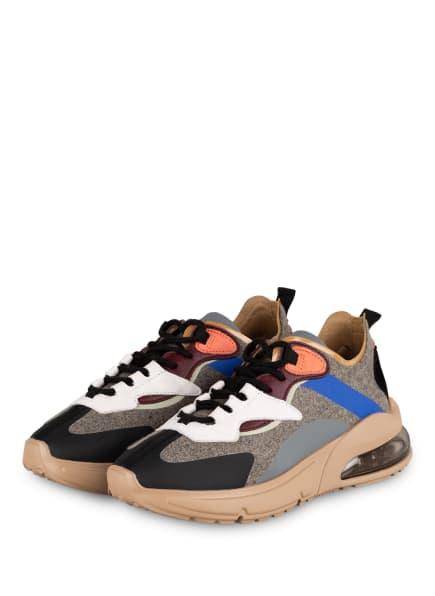D.A.T.E. Sneaker AURA AUKLAND, Farbe: GRAU/ BLAU/ WEISS (Bild 1)