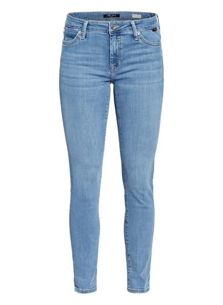 mavi Skinny Jeans ADRIANA, Farbe: 31477 baby blue super shape (Bild 1)