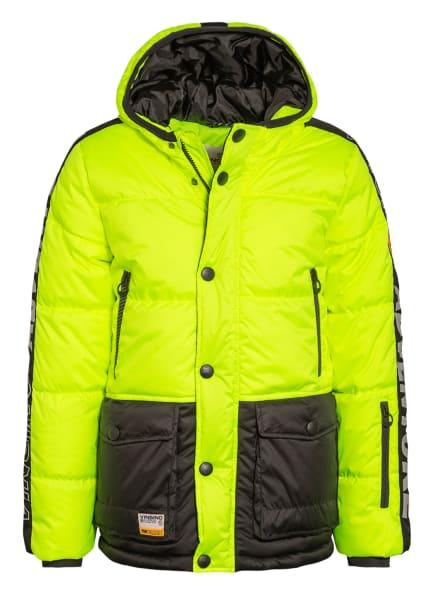 VINGINO Skijacke TIDE, Farbe: NEONGELB/ SCHWARZ (Bild 1)