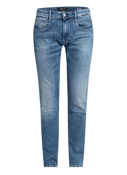 REPLAY Jeans ANBASS Slim Fit, Farbe: 010 LIGHT BLUE (Bild 1)