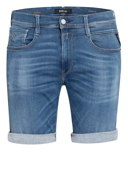 REPLAY Jeans-Shorts AMBASS, Farbe: 009 MEDIUM BLUE (Bild 1)