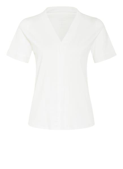 MARC CAIN T-Shirt im Materialmix , Farbe: 110 off (Bild 1)