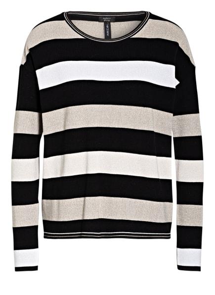 MARCCAIN Pullover mit Glitzergarn, Farbe: 900 BLACK (Bild 1)