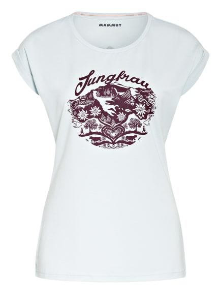 MAMMUT T-Shirt MOUNTAIN, Farbe: HELLBLAU/ LILA (Bild 1)