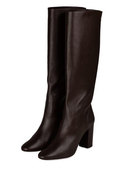 AQUAZZURA Stiefel BOOGIE, Farbe: DUNKELBRAUN (Bild 1)
