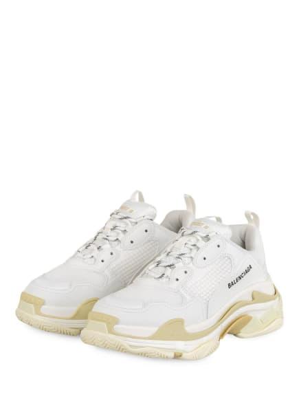 BALENCIAGA Sneaker TRIPLE S, Farbe: WEISS (Bild 1)