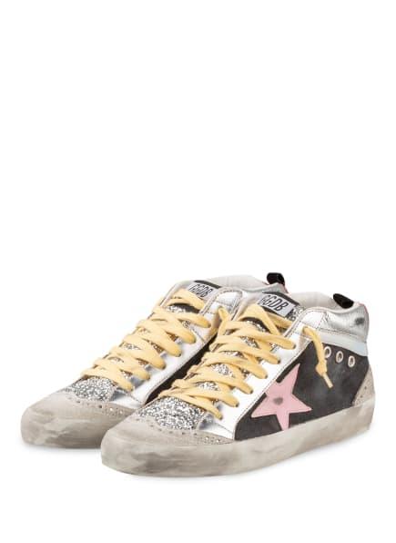 GOLDEN GOOSE DELUXE BRAND Hightop-Sneaker MID STAR, Farbe: HELLGRAU/ SILBER (Bild 1)