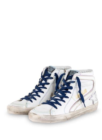 GOLDEN GOOSE DELUXE BRAND Hightop-Sneaker SLIDE CLASSIC, Farbe: WEISS (Bild 1)