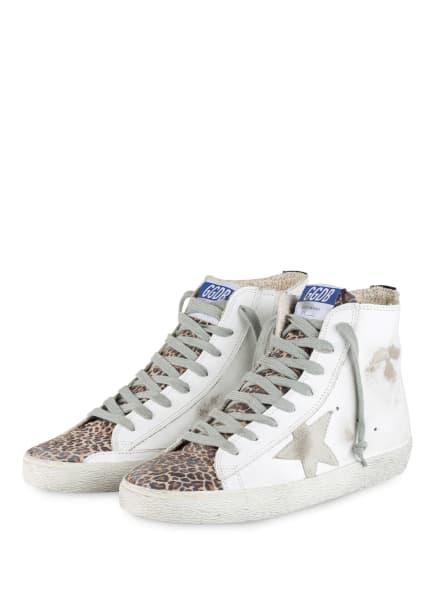 GOLDEN GOOSE DELUXE BRAND Hightop-Sneaker FRANCY, Farbe: BEIGE/ DUNKELBRAUN/ WEISS (Bild 1)
