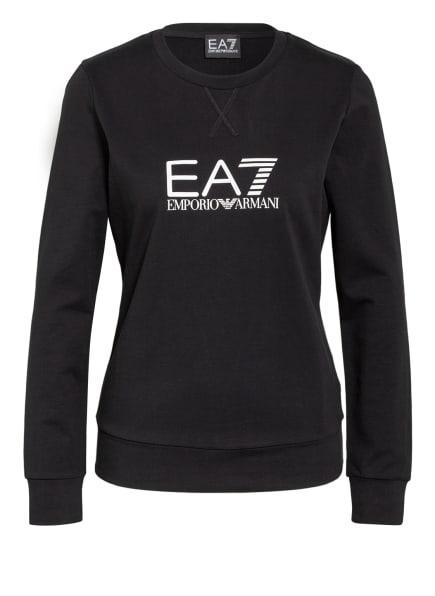 EA7 EMPORIO ARMANI Sweatshirt, Farbe: SCHWARZ (Bild 1)