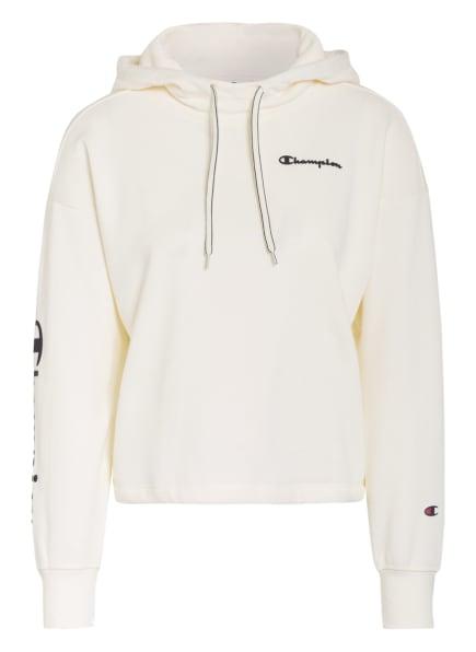 Champion Cropped Fleece-Hoodie, Farbe: ECRU (Bild 1)