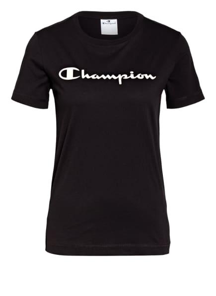 Champion T-Shirt , Farbe: SCHWARZ (Bild 1)