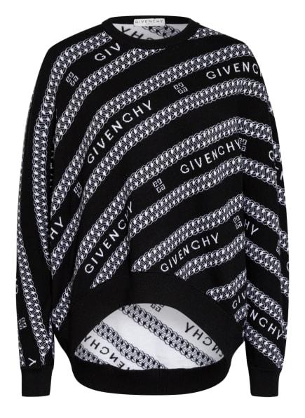 GIVENCHY Sweatshirt, Farbe: SCHWARZ/ WEISS (Bild 1)