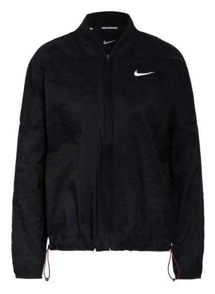 Nike Laufjacke ICON CLASH, Farbe: SCHWARZ/ WEISS (Bild 1)