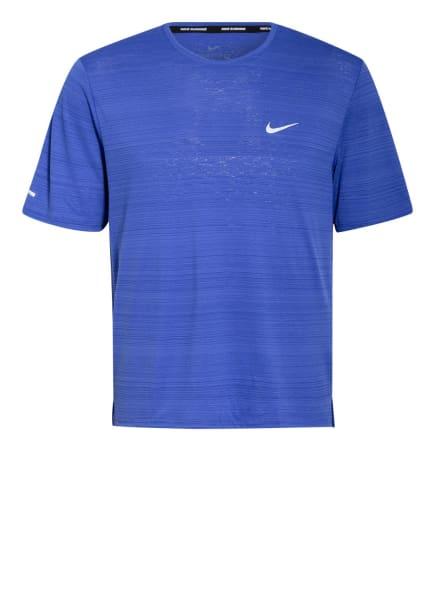 Nike Laufshirt DRI-FIT MILER, Farbe: BLAU (Bild 1)