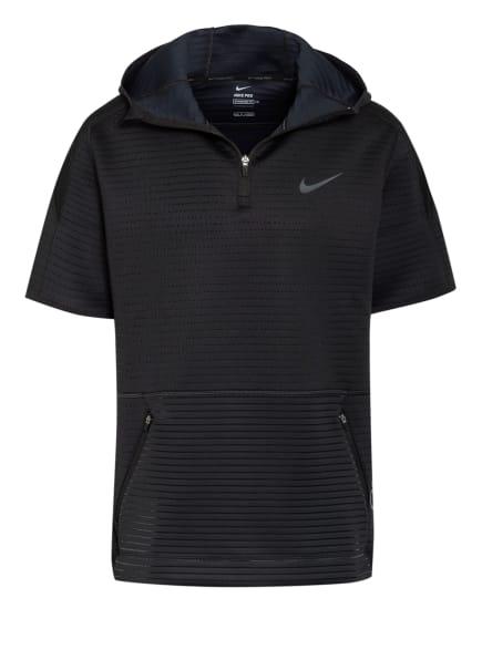 Nike T-Shirt PRO mit Kapuze, Farbe: SCHWARZ (Bild 1)